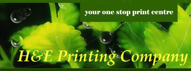 H & E Printing