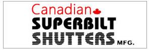Canadian Superbilt Shutters