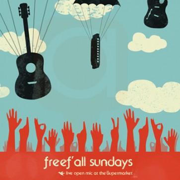 Freefall Sundays Open Mic / Jam Songwriter Night