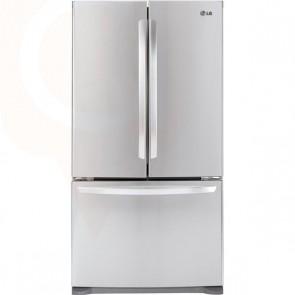 LG 36 Inch, 20.7 cu.ft. 3 - Door French Door Cabinet Depth Refrigerator with Linear Compressor