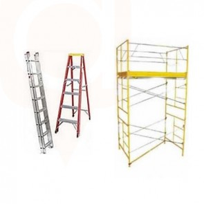 Scaffold, Ladders, Fencing Rentals and Sales