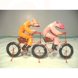 2 Men On A Bike: Paper