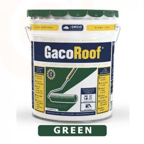 Gaco Roofing Repair Five Gallon GREEN