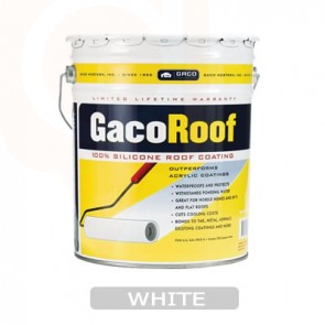 Gaco Roofing Repair Five Gallon WHITE