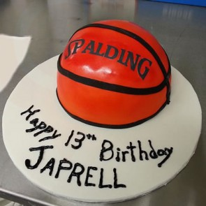 Custom Sports Birthday Cakes