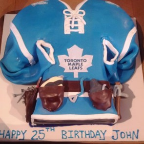 Custom Hockey (sports) Birthday Cakes