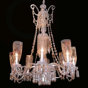 Exceptional Chandelier 1  - pre WW II - Installed