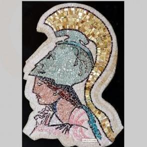 Athena Greek Mosaic Art
