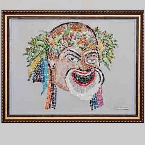 Mosaic Art Clown