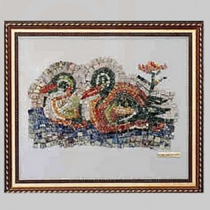 Mosaic Art Ducks