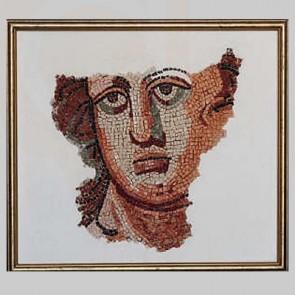 Italian Ancient Face Mosaic Art