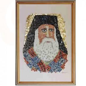 Saint Nektarios Mosaic Art