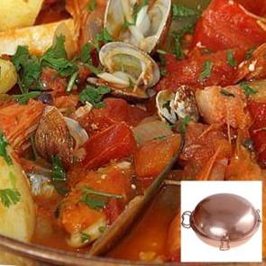 Mixed Seafood Cataplana - Seafood / Meat Menu