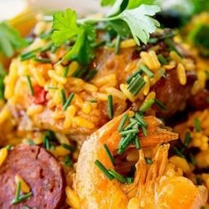 Mixed Seafood Rice - Seafood Menu