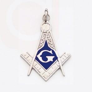 Masonic Pendant Silver 1