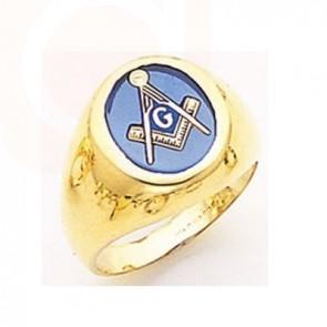 Gold Mason Ring 03