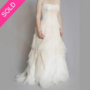DEIDRE  - Vera Wang Wedding Dress -  SIZE 12 - IVORY