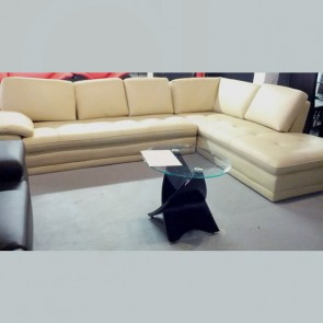 White L Shape Sectional Back / Side Piece