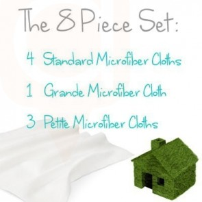 The  8 Piece Set - Chemical Free Cleaning Supplies