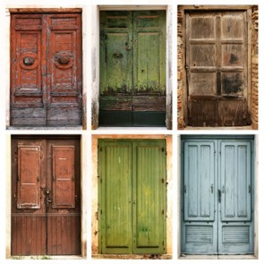 Antique Architectural Doors