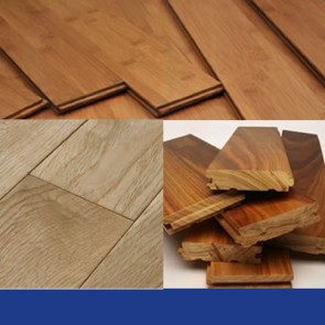 Bamboo, Oak, Maple, and Walnut Flooring