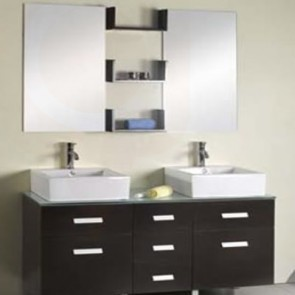 Bathroom Vanity and Tiles