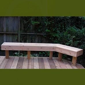 Cedar Wood Benches