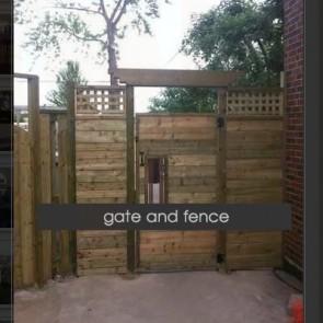 Stunning Wood Fence