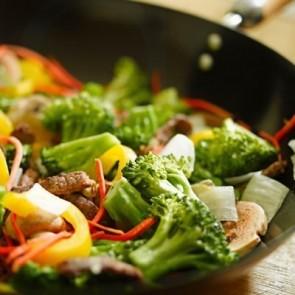 Black Pepper Garlic Stir-Fry - Dinner