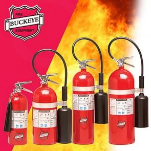 Carbon Dioxide - Fire Extinguishers