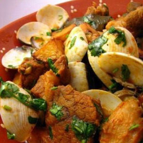 Pork and Clams Alentejo Style