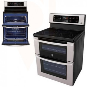 LG Double Oven Convection Stove