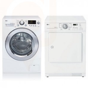 LG Washer Dryer Apartment Size (White)