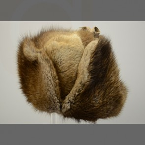 Muskrat Fur Hat- Russian
