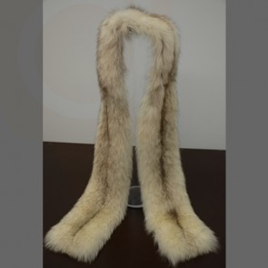 Fox Fur Scarf Knitted