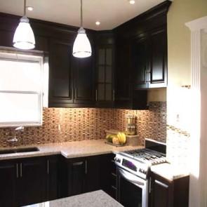 Modern Kitchen Cabinets - Expresso