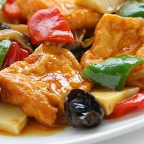 Deep Fried Tofu or Shrimp - Dinner