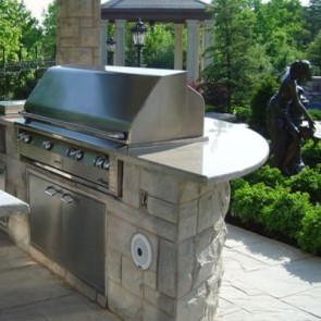 Outdoor Kitchen Installation