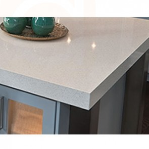 Hygienically Safe Reception Counters Quartz