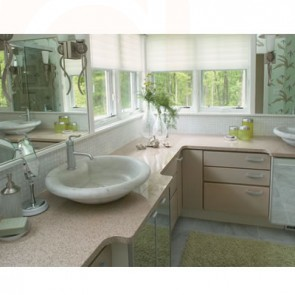 Vanity Countertops Quartz Design and Installation