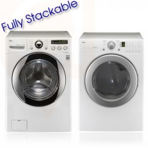 LG Washer & Dryer Stackable Front Load