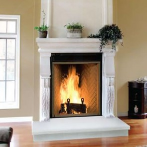 Wood Fireplace Renaissance Rumford 1000