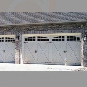 5500 - Fiberglass Garage Door Carriage House