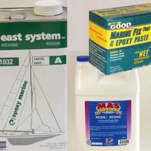 Boat Epoxy Resins,Fillers Putties & Adhesives