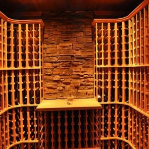 Village Wood Wine Rack
