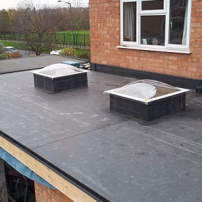 Rubber Flat Roofing Residential and Commercial