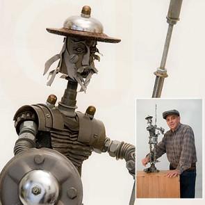Sculpture Dom Quixote