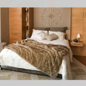 Queen size Summer Flame Murphy Bed