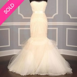 121212  - Vera Wang Wedding Dress - Size 12 - Ivory